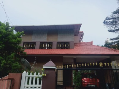 4 BHK 2400 SqFt House in 6.75 Cents for sale near Vadavathoor,Kottayam
