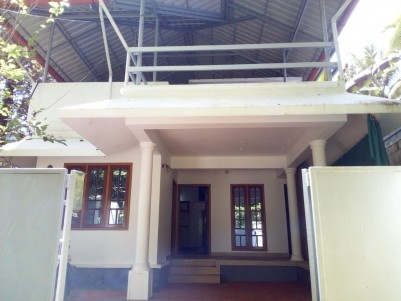 6 Cent with 2 BHK, 1200 SqFt House for sale at Kumaranelloor, Kottayam