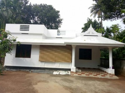 17 Cent land with 1200 sqft House for sale at Perambra, Chalakudy