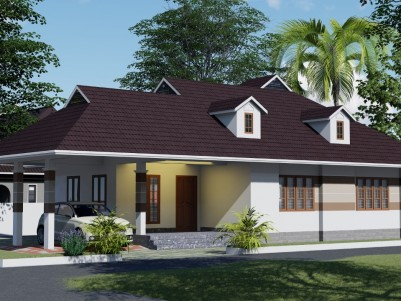 4 BHK 2200 sqft House in 10.75 Cent for sale near Pravithanam, Pala