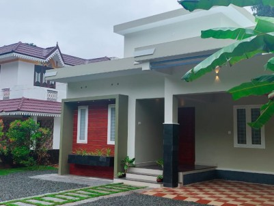 1370 sqft 2 BHK Fully furnished House in 7.25 Cent for sale at Parithrana, Kottayam