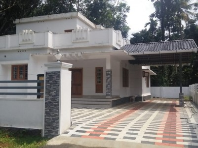 8.25 Cent with 1850 sqft 3 BHK House for sale near Eattumanoor Kottayam