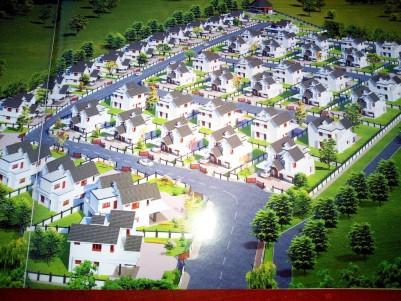 Gated community villa for sale at Manna Meadows Caritas, Kottayam