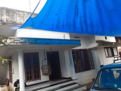 3 BHK 1100 sqft House in 7 Cent for sale at Kandanad near  Tripunithura, Ernakulam