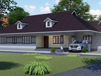 4 BHK 2200 SqFt Good Residential House in 12 Cent for sale Near Pravithanam Pala
