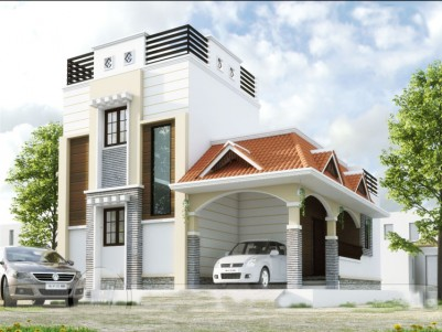 3 BHK 1400 sqft House in 5.10 Cents for sale Near to Amrutha School Kallepully, Palakkad