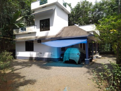 36 Cent & 2 BHK 1100 Sqft House for sale at Chittar market, Pathanamthitta