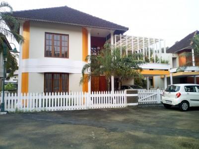 3450 sqft 4 BHK Gated community villa in 8.5 Cent for sale near Kalathippady, Kottayam