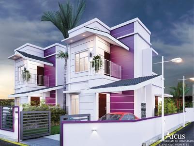 VIOLET HOMES - Affordability and Luxury Villa for sale at Chandranagar, Palakkad