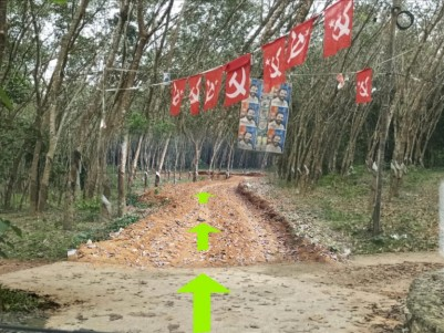 Residential plot at Pathanamthitta, Chandanappalli for Rs 59000 only per cent