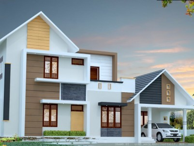 3 BHK Villa in 6.8 Cents for sale at Puthupally Kaithepalam, Kottayam