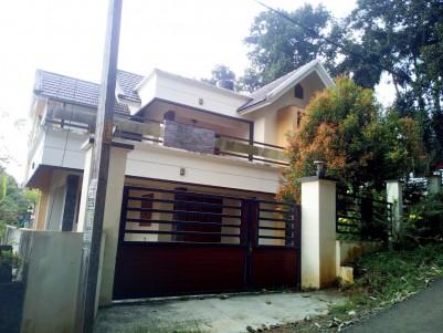 Fully Furnished 4 BHK 2350 SqFt House in 9 Cents for sale near Manarkadu, Kottayam