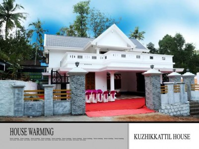 4 BHK Good Residential House in 10 Cents for sale near MC road Pattithanam, Kottayam