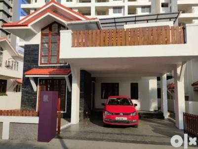 New 3 BHK, 2412 Sqft Villa in 7 Cents for sale at Edachira, Kakkanad, Ernakulam