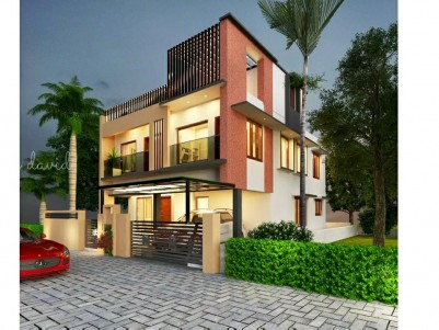 Semi furnished 4 BHK 2800 sqft Villa in 4.5 Cents for sale at Thripunitura, Ernakulam