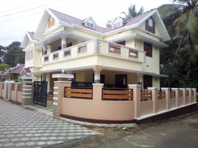 5 BHK 2900 SqFt House in 7.5 Cents for sale at Eattumanoor, Kottayam