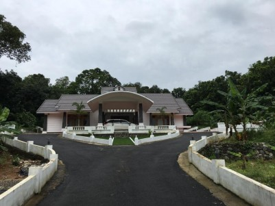 Exchange with Commercial property / Sale- House/Villa in 1 acre land for sale @ Kottayam- House and