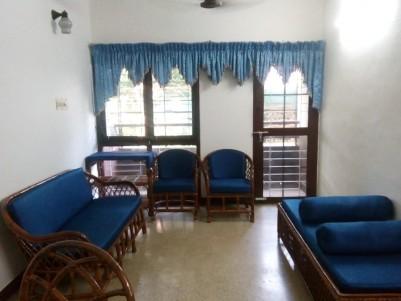 Fully Furnished 1100 sqft 2 BHK for sale @ Kadavantra Gandhi Nagar, Ernakulam
