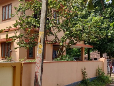 3 BHK HOUSE WITH SPACIOUS VACANT PLOT-TOTAL 11 CENTS NEAR CHANDRANAGAR, PALAKKAD