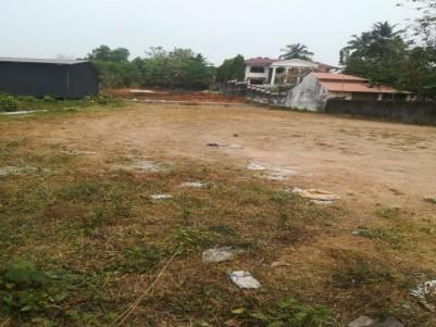 A pucca levelled rectangular ideal plot for sale @ Thrikkakara, Ernakulam