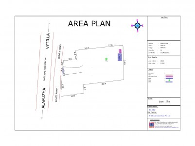 Road Frontage 25.5 Cents  Commercial Land for Sale in EKM Bypass