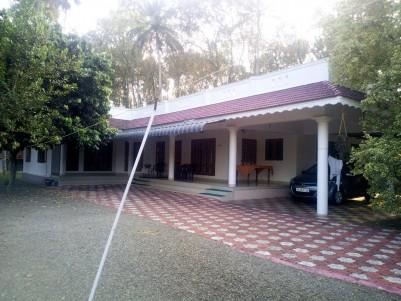 4.75 Acre with 2200 sqft 4 BHK House for sale at Vezhanganam, Bharananganam, Kottayam