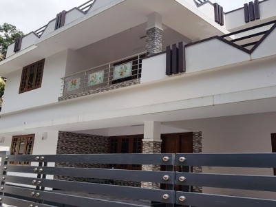 7 Cents land with 2000 sqft House for sale at Athani, Kodungallur, Thrissur