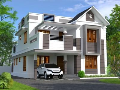 2130 sqft 4 BHK House in 6.600 Cents for sale at Pallikkara, Ernakulam