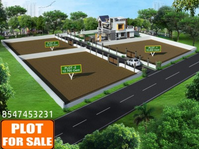 Residential plots for sale at Nedumkunnam,near Karukachal,Kottayam