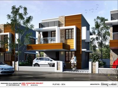 2/3 BHK Villa for sale Near Shornur Highway, Palakkad