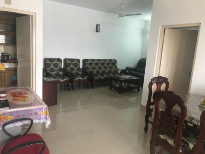 Fully Furnished 3 BHK 1230 Sqft Flat for sale at  Chembumukku , Edappally, Ernakulam
