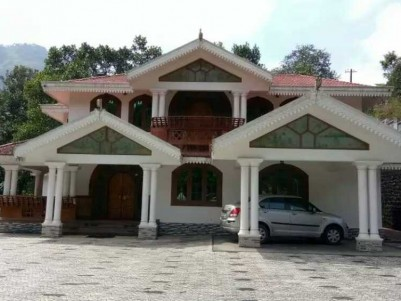 21 Cents of land with 3400 SqFt House for sale at Adimali, Idukki