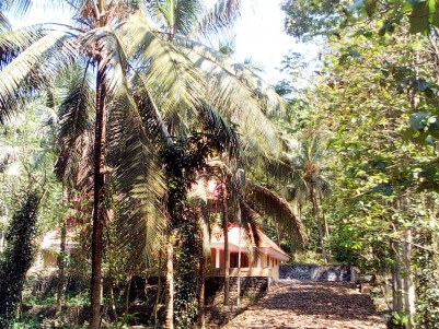 2.34 Acre land with 2600 Sqft House for sale at Pala, Kottayam