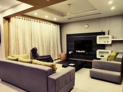 Fully Furnished 3 BHK Duplex Apartment for sale at Kadavanthra, Ernakulam