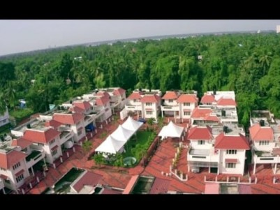 Fully Furnished 2200 sqft, 3 BHK Gated villa in 5 Cents for sale at Nettoor, Maradu, Ernakulam
