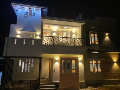 New 4 BHK 2200 sqft House in 5 Cents for sale at Kuzhivelipady, Ernakulam