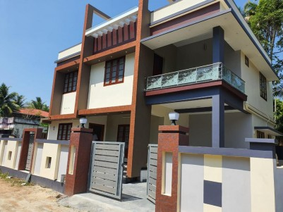Semi Furnished 4 BHK 2180 sqft House in 4.8 Cents for sale at Panagad, Ernakulam