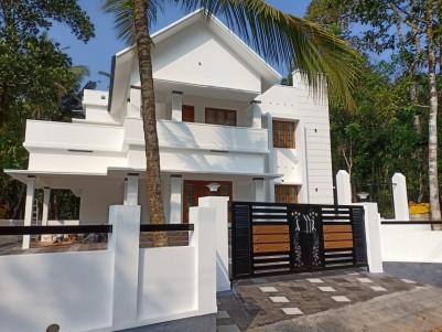 10 Cents with 2400 sqft 4 BHK House for sale near Marsleeva medicity cherppunkal, Pala, Kottayam