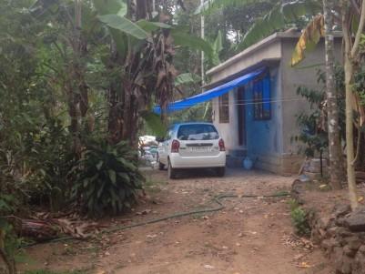 1 Acre land with small house for sale near Balagram Kattapana, Idukki