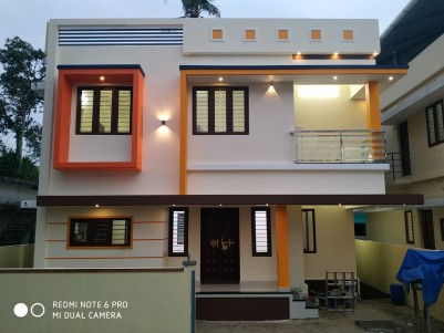 3 BHK 1450 Sqft Villa in 3 Cents for sale at Thripunithara Valiyakulam (Udayamperoor), Ernakulam