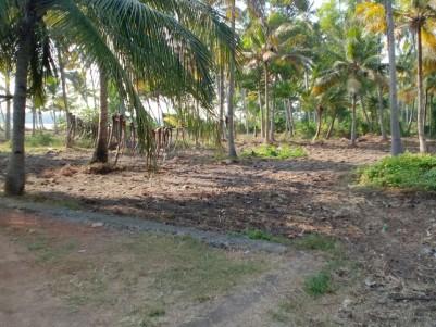 1.27 Acres Lakefront Land for sale at Arattupuzha, Alappuzha.