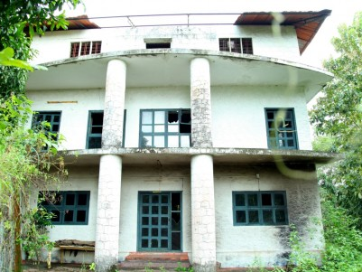 8.47 Acres of land with Commercial Building for sale at  Thenmala,Kollam