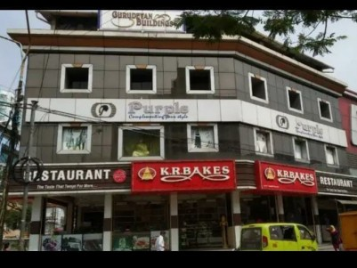 Main Road Frontage Commercial Building for sale at Aluva, Ernakulam