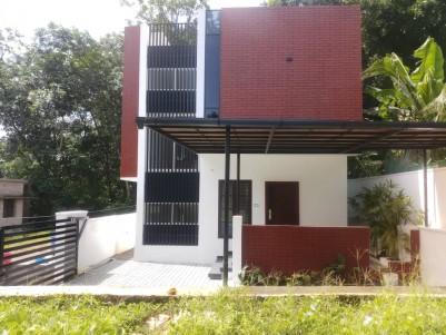 New Designer 3 BHK House for sale at Thuruthy, Changanacherry, Kottayam