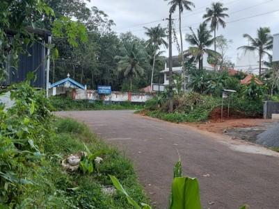 30 Cents of Residential plot  for sale at Vandamattom, Thodupuzha, Idukki