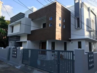 New Semi Furnished 4 BHK House for sale at Chembumukk, Vazhakkala, Kochi