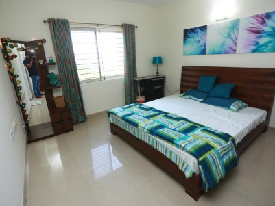Fully Furnished 3 BHK Sea Facing Flat  For  Sale at Marine Drive,Ernakulam