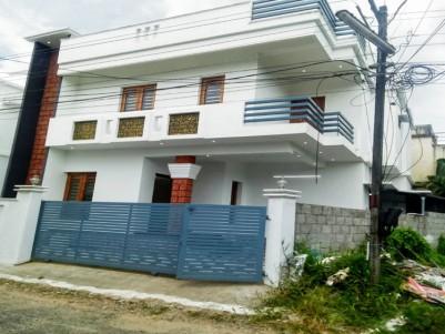 Brand New Semi Furnished House For Sale at Chalikkavattom, Vyttila, Kochi