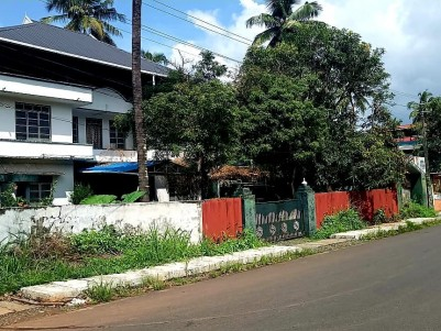 42 Cents Rectangular shaped land with Two Story House for sale in Mannuthy, Trichur