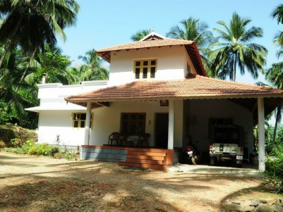 3 Acre Residential Land with House For Sale at Mannarkkad,Palakkad